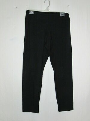 SMALL BLACK Women with Control Petite Tummy Control Slim Leg Ankle Pants A286521