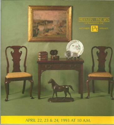 Freeman Fine Arts Of Philadelphia Antiques Auction Catalog Sale No. 542 1993