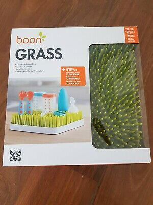 Boon Lawn Grass Countertop Drying Rack for baby bottles - Green