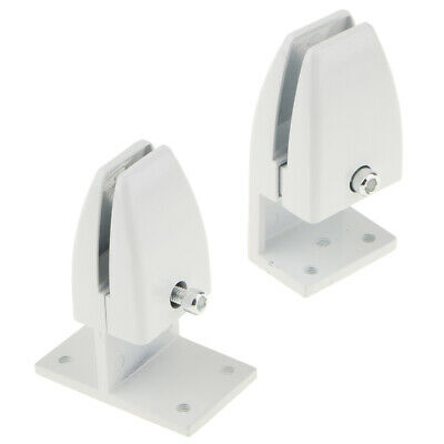 2 Office Partition Support Desk Divider Privacy Screen Panel Clamp Clip