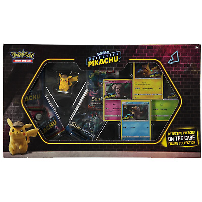Pokemon TCG Detective Pikachu On The Case Figure Collection Box