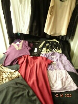 Large  Clothes Bundle Mixed Items 20-22 Dresses/tops/jacket some BNWT