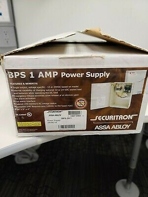 Securitron BPS-24-1 Power Supply 24VDC - 1 AMP