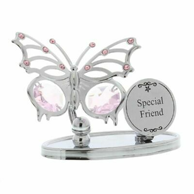 New Crystocraft Butterfly with Swarovski Elements Perfect Gift