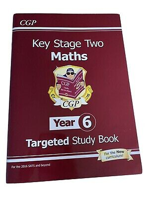 KS2 MATHS Targeted Study Book Level 6 Revision CGP Home School Key stage 2