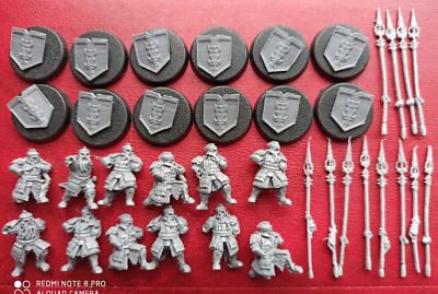 Lord of the rings IRON HILLS DWARF WARRIORS