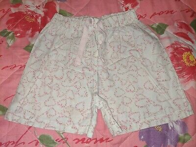 The Little White Company Girl's Shorts Age 5-6 Years *Cute Look*