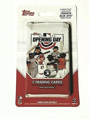 2020 Topps Opening Day Canadian Exclusive Parallel Pack Bichette Rookie? Sealed