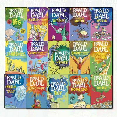Roald Dahl 15 Books Collection - Sealed - *No Slipcase* - Free Next Day Delivery