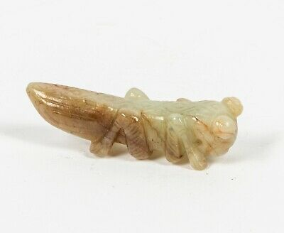 Chinese Antique Jade Mantis,Sung - Ming Dynasty