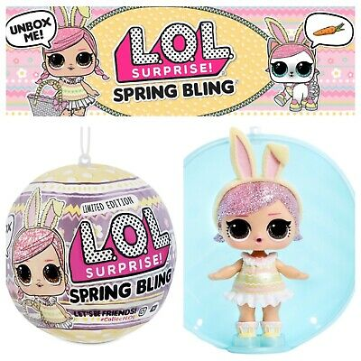 LOL Surprise Hops Spring Bling Easter Sparkle Glam Glitter LIMITED EDITION Doll