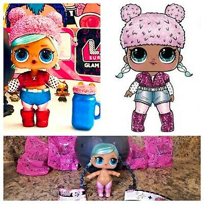 LOL Surprise Brrr BB Baby Glam Glitter Series 2 Doll Ball Authentic Sparkle NEW!