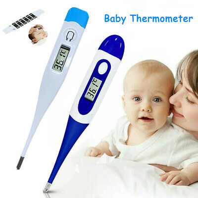 Digital LCD Thermometer Body Temperature Mouth Underarm Adult Baby Kids Medical