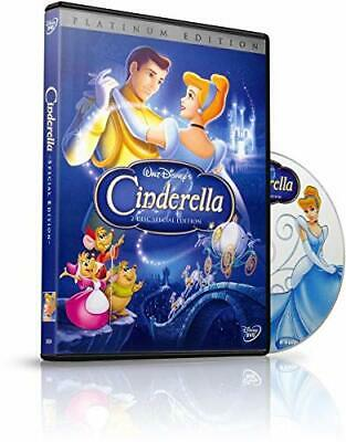 Cinderella (DVD, 2-Disc Platinum Edition, 2005) New w/ Slipcover FREE Shipping