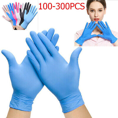 Disposable Gloves Nitrile Powder Free Latex Free Examination Blue UK Fast Post