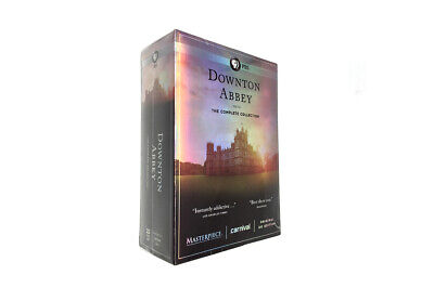 DOWNTON ABBEY: THE COMPLETE COLLECTION DVD (22-Disc Set,new sealed)