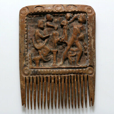 Scarce-Ancient Roman Mammoth B0Ne Comb Circa 300-400 Ad