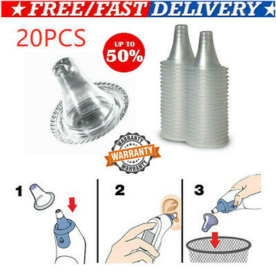 40pcs For Braun Probe Covers Ear Thermoscan Replacement Lens Filter  USA BEST