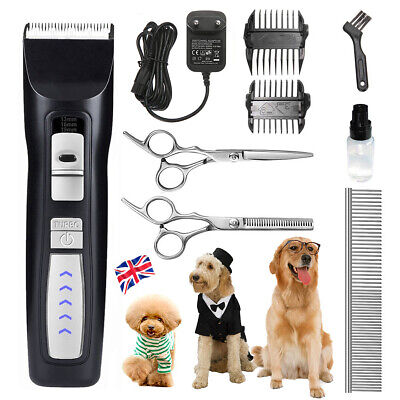 AUG Electric Pet Dog Grooming Clippers,Cordless Pet Hair Shaver Trimmer Kit