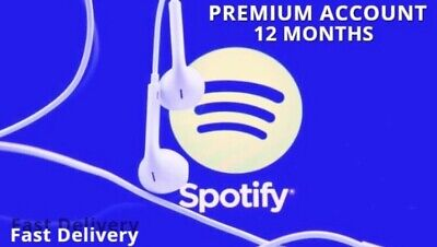Spotify Premium account 💥1 Year 💥 12 months 💥1h Delivery Worldwide 💥