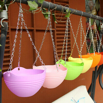 100% Plant Chain Hanger Flower Pot Hydroponic Plant Hanger For Wall Decor_shAA
