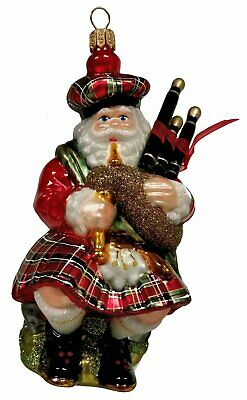 etc Bagpipes Thistle Welsh Sheep Scottish Bauble Christmas Ornaments Irish