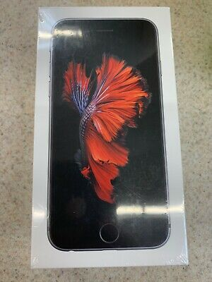 Apple iPhone 6s - 32GB - Space Gray (Straight Talk) A1633 (CDMA + GSM) (SEALED)