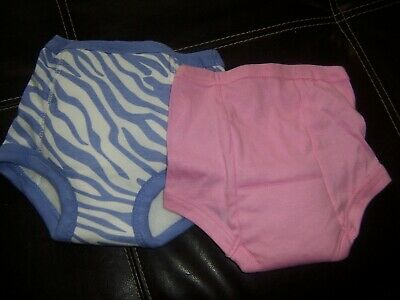 Gerber Potty training pants  one all in one One regular size 2t-3t pink size 2