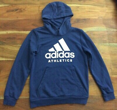 Adidas Kids Hoodie Athletics Running Training Essentials Logo School Gym BP8779