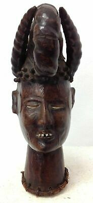 finest old Ekoi head 14 inch old Germany collection