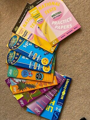 Selection Of Ks1 And Ks2 English Work Books And Practice Papers