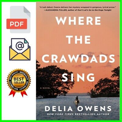 Where the Crawdads Sing by Delia Owens🔥(2018✔  Eß00k✔ P˘D˘F]) BESTSELLER ✅