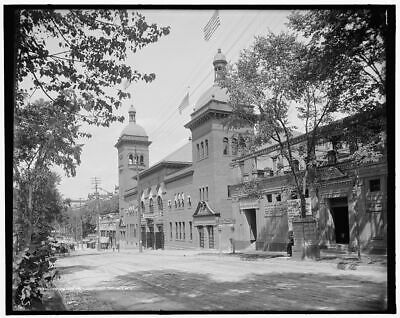 1905 Photo of Convention Hall, Saratoga Springs, N.Y.