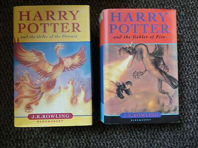 Harry Potter and the Goblet of Fire / Order of the Phoenix - englisch - HC