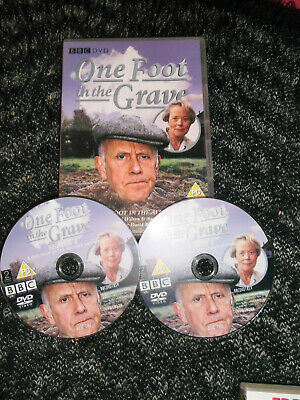 one foot in the grave box set of 2 dvds series 4 one foot in the algarve special