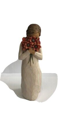 Willow Tree Surrounded By Love Figurine Demdaco By Susan Lordi No Reserve!