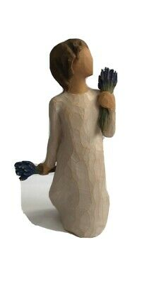 Willow Tree Lavender Grace Figurine Demdaco By Susan Lordi No Reserve!