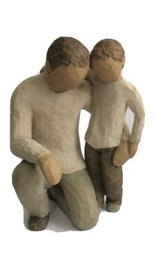 Willow Tree Father And Son Figurine Demdaco By Susan Lordi No Reserve!