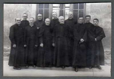 Photography to the 1940 - Groupe de Priests - Retirement Spiritual - Area