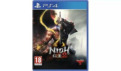 Nioh 2 (PS4) Game CD Perfect condition!! Game of the year