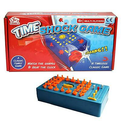 TIME SHOCK GAME 04019 BEAT THE CLOCK FRANTIC MATCHING SHAPE TIMED KIDS FUN