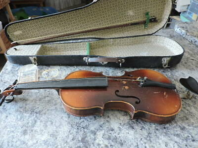 antique violin and bow concert with case parts or repair truesolo string sleeve