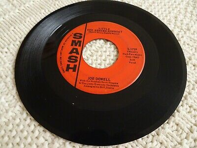 Joe Dowell  Little Red Rented Rowboat/The One I Left For You  Smash 1759