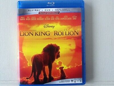 The Lion King (2019 Blu-Ray only)