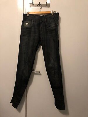 G Star Raw Jeans / Pants Size 29 Length 32 Near New RRP $199.99 SC