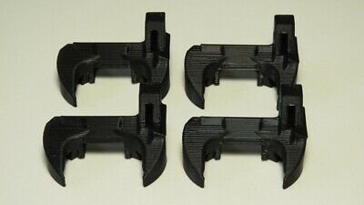 4 x Prusa i3 MK3S R4 Revision Fan Nozzle Shroud printed in ABS