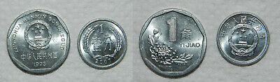 2 X  CHINA COINS - HIGH GRADE with LUSTRE