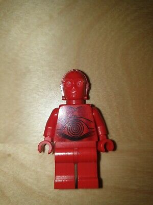 Figur Minifig Hoth Droid Droide rot red 7879 LEGO Star Wars R-3PO R3PO