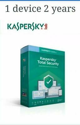 KASPERSKY TOTAL Security 2020 1Device  2 Year  GLOBAL-KEY Download
