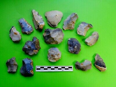 Flint Group of Tools;Mesolithic /Neolithic  (B2)- Recent Dorset Finds- Look!